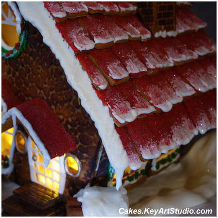 Gingerbread House for my son Mark