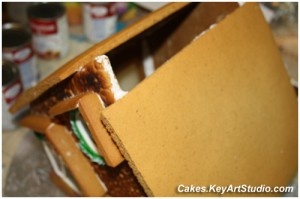 gingerbread house process 2010 11