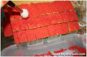 gingerbread house process 2010 14