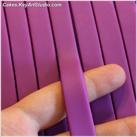 DIY multi-blade ribbon/strip cutter for fondant, gum paste, dough, playdough, polymer clay (FIMO) or clay.