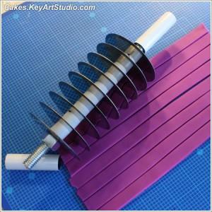 DIY multi ribbon strip cutter 13