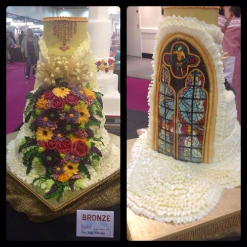 Pinays win bronze in London cake competition