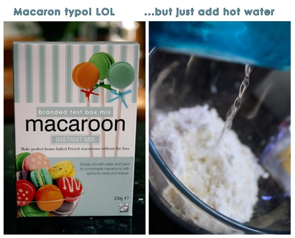 "Box Macaron Mix? (Misspelled & a ""Miss,"" Not a Hit)"