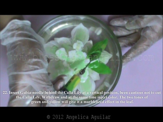 how to make calla lilies 22