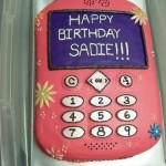 Pink Cell Phone cake