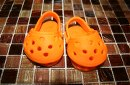 Crocs shoe from our MeetUp group. We had a fantastic evening. Cant wait to po...
