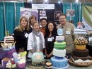 The results from the Icing Smiles, Inc. cake competition at the Fine Chocolate s...