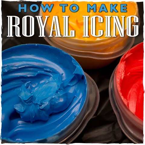 How To Make Royal Icing - sugarkissed.net