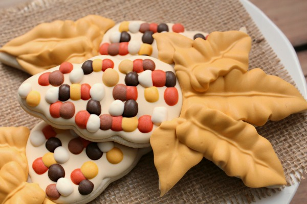 Indian Corn Icing Palette