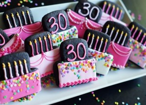 Chocolate Peanut Butter Cut-out Cookies...and a very special birthday!