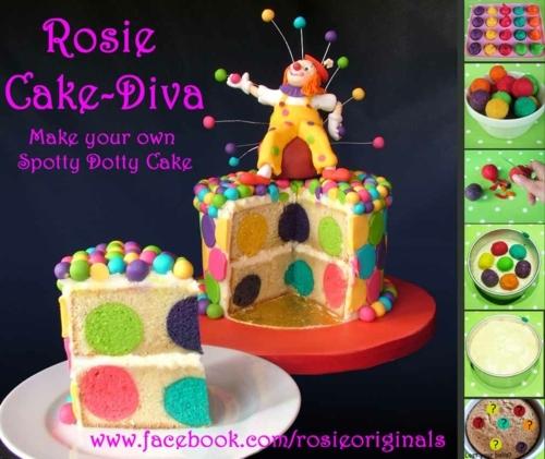 Spotty Dotty Cake Tutorial