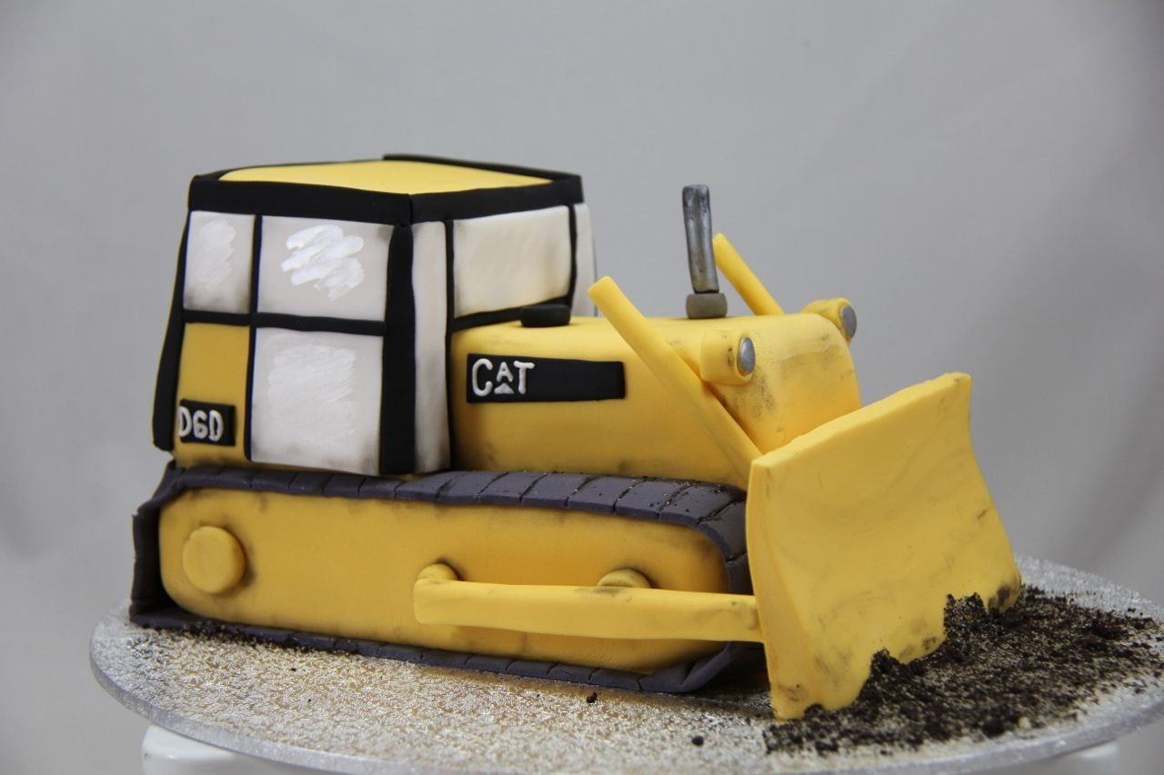 Cat Dozer Cake Edible Artists Network