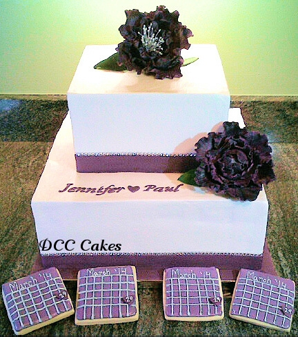 Engagement Cake & Save-the-Date Cookies