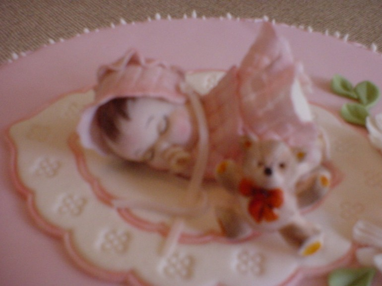 A Birthday girl cake (detail)