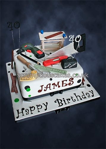 Joinery/Carpentry Birthday Cake