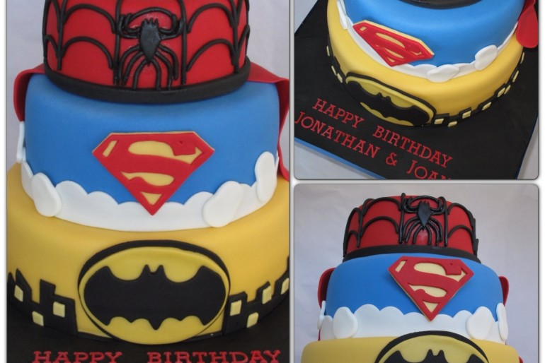 The Ultimate Superhero Cake