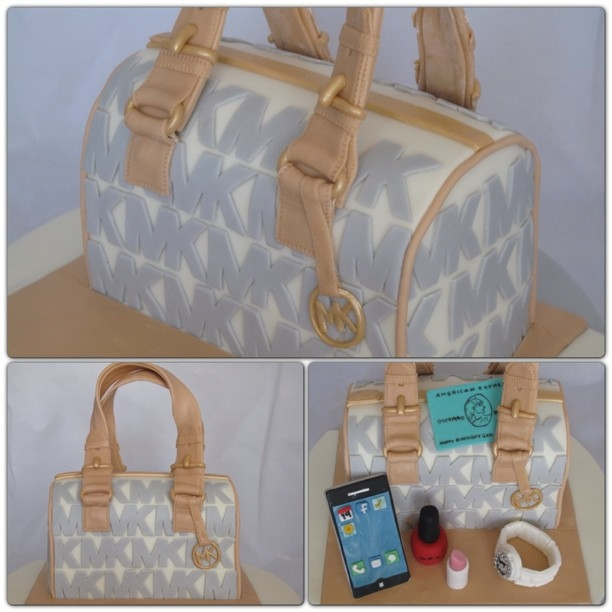 MK Bag with Accessories