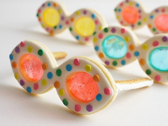 Summer Sunglass Cookies