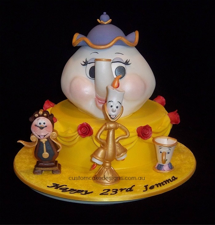 Beauty and the beast cake edible artists network