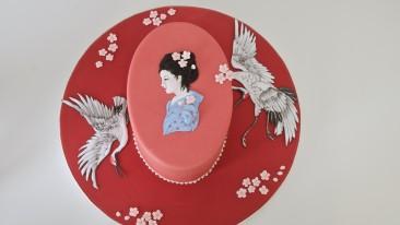 Japanese Cranes Tutorial