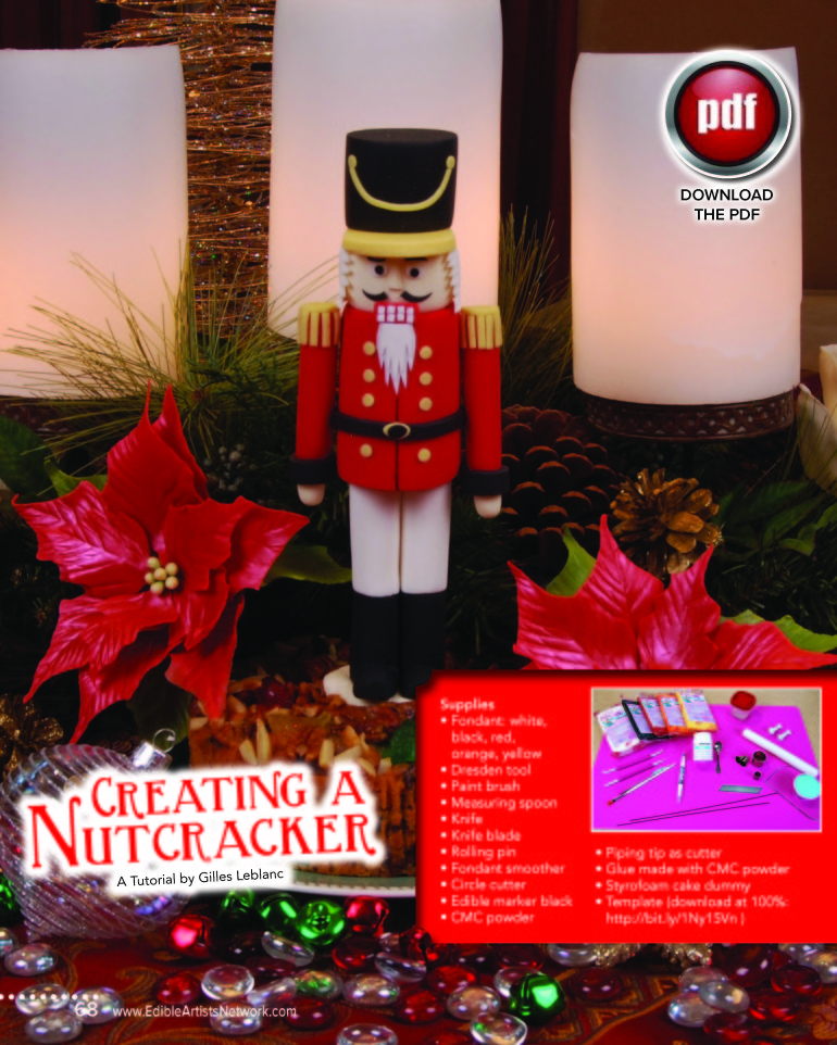 Creating a Nutcracker – by Gilles Leblanc