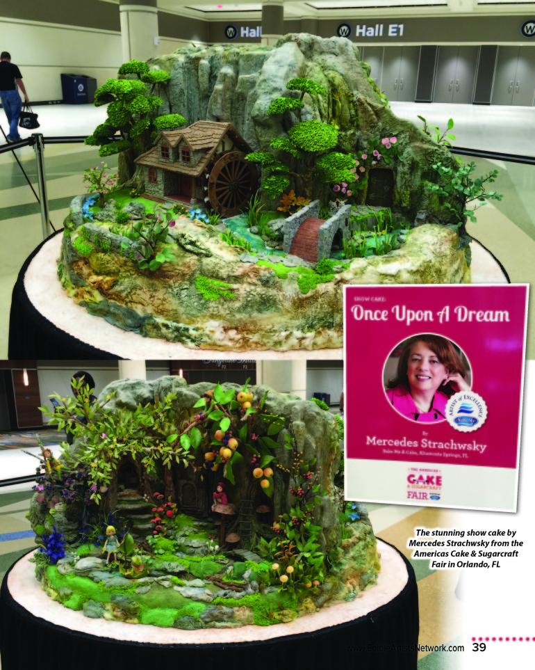 Americas Cake & Sugarcraft Fair Review – by Maria Nerius – How to Make Cake