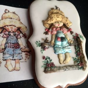 Hand Painted Cookie