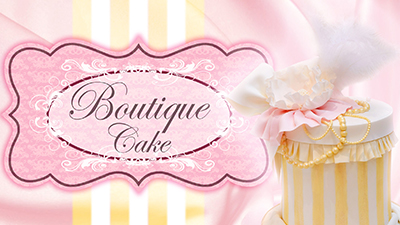 Boutique Cake Project (Double Barrelled) on Pretty Witty Cakes