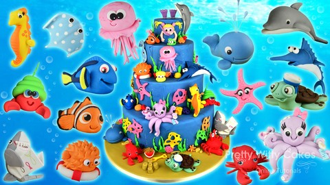 How To Make Cake – Fondant Character Modelling for Cake Makers – Sea Creatures