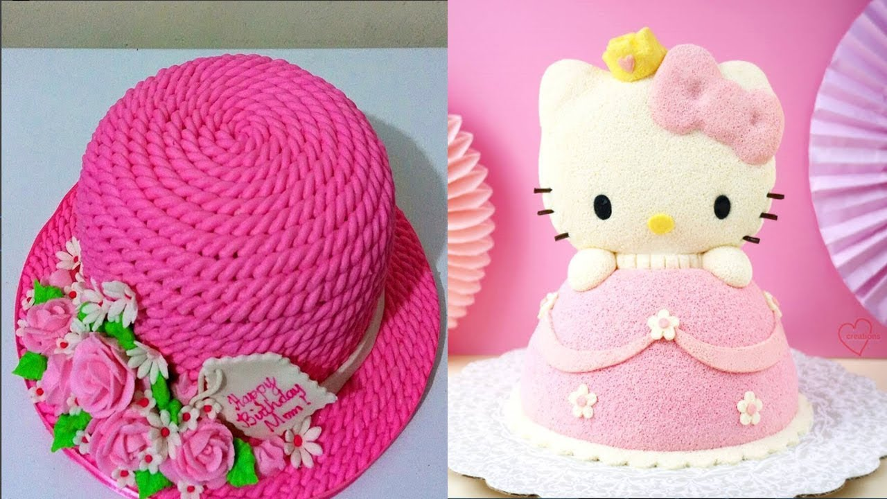 Top 15 Easy Birthday Cake Decorating Ideas -the most satisfying video in the world