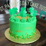 Easy St. Patrick's Day Cake Tutorial!