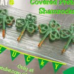 How to Make St. Patrick's Day Shamrock Chocolate Covered Pretzels