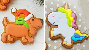 Cute Animals Cookies Decorating Party for Kids   Easy Cookies Ideas   So Yummy Cookies Recipes