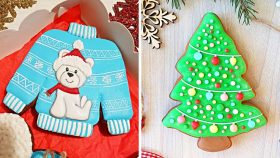 10 Best Recipes for Holiday Cookie Ideas | Beautiful Cookies Decorating Tutorials | So Yummy