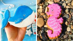 How To Make Perfect Cookies For Party   Yummy Cookies Decorating Tutorials