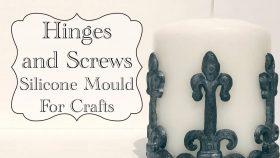 Hinges and Screws Mould For Crafts