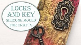 Locks and Key Mould For Crafts