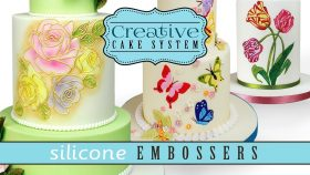 Silicone Embossers Trailer | Emboss Personalised Designs For Cakes