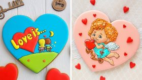 10 Easy Cookies Decorating Ideas For Valentine's Day   So Yummy Cookies Recipe