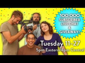 100K Subscribers LIVE CHAT + GIVEAWAY!