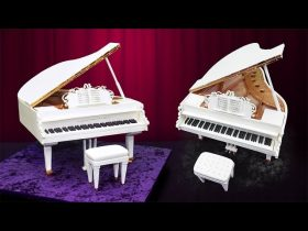3D Grand Piano Cake Tutorial - Overview