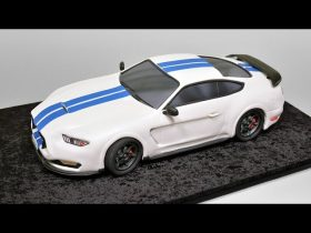 3D Sedan Car - Ford Mustang Shelby GT350 - Introduction