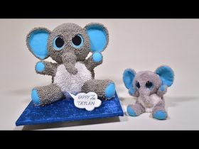 3D Toy Elephant Cake Tutorial - Introduction