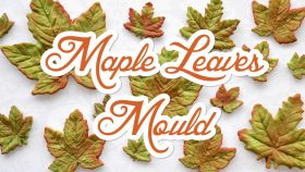 Adding Maple Leaves to Cake Decorating Projects