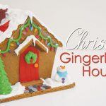 Christmas Gingerbread House Tutorial - Recipe, Tutorial and Templates