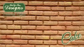 Create A Brick Texture For Cake Decorating