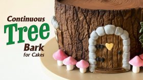 Create A Realistic Tree Bark Effect For Cakes