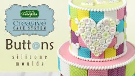 Creative Cake System Button Hearts and Borders