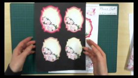 Cutting instructions for the Floral Designs for Card Making
