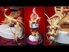 Dragon and Phoenix Cake Tutorial - Introduction